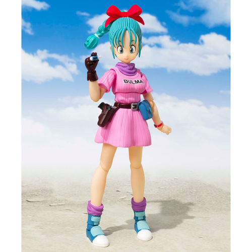 BULMA - ADVENTURS BEGINS - DRAGON BALL - S H FIGUARTS - TAMASHII NATIONS - BANDAI